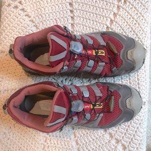 EUC Salomon Red Sneakers